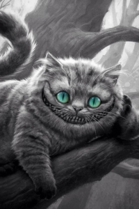 Cheshire Cat A Character From Alice In Wonderland In The Tattoo Art