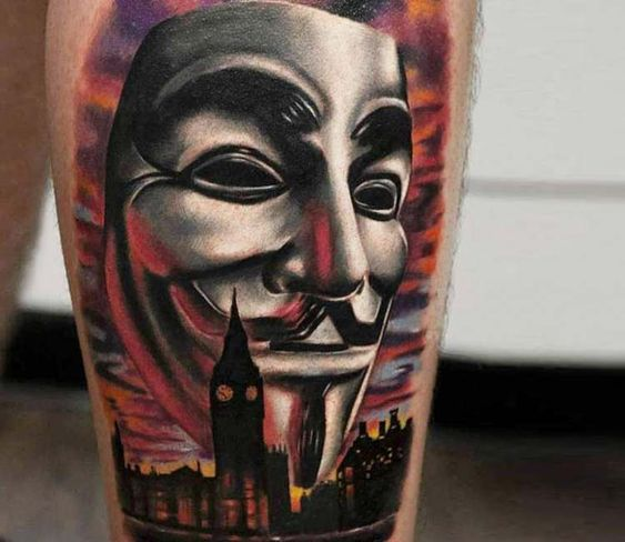 Guy Fawkes The Face Behind The Anonymous Mask