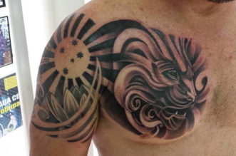 Lion Animal Tattoo
