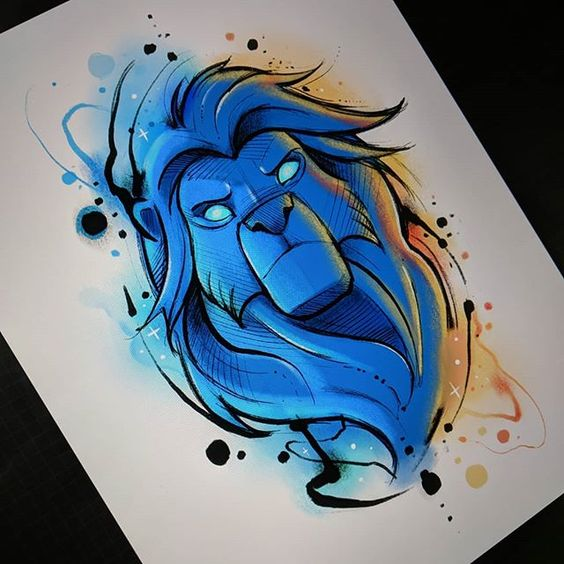Leo Tattoos Characteristics Of This Sign Of The Zodiac