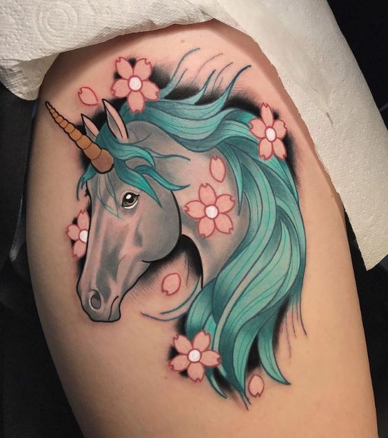 What Is A Unicorn Meaning Symbolism Of Unicorn Tattoos Unicorn tattoos can be adapted to various tattooing styles, such as watercolor, geometric and realistic. what is a unicorn meaning symbolism