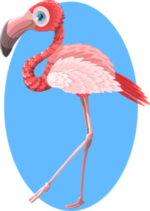 Flamingo Bird Tattoo